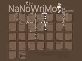 NaNoWriMo Wallpaper by VioTanequil