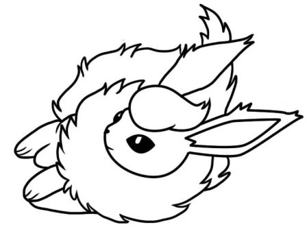 Bellatrixie white deviantart for Flareon coloring page