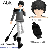 Able MMD model by front-reverie