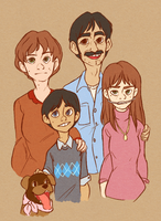 SP - Marsh Family Portrait by Kayotics