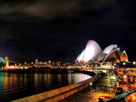 Sydney Opera House HDR by elfullero