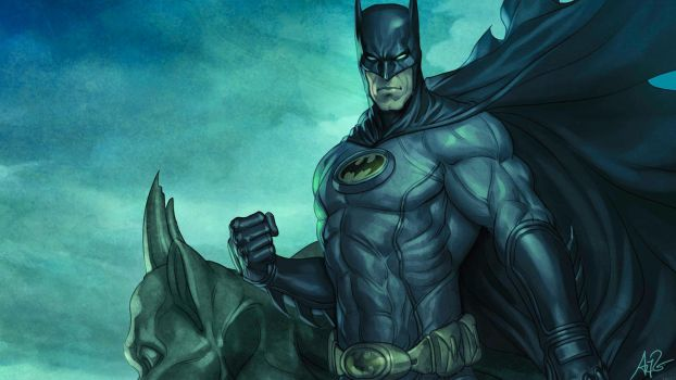 Old Batman by rmck2