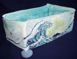 The Great Wave Vessel by BabyGig