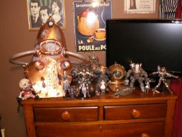 bioshock figures and props by sandercohen13