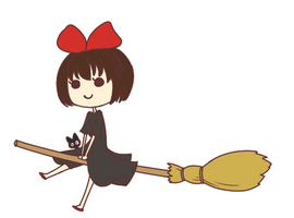 Kiki's Delivery Service by r3nka
