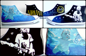 Nirvana Sneakers by RubenFD
