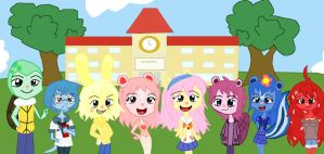 Welcome to Happy Tree World  Anime Poster 's by STITCH62633