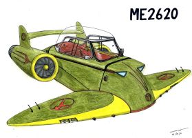 1166 0609 Messerschmitt ME2620 by TwistedMethodDan