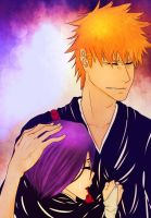 Art Collab With Twinnie- IchiRuki: Tears Dont Fall by MariaRuiz122591