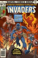 The Invaders Comic Book #20 by jimmymcwicked
