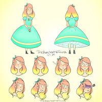 Character design 1_2015 by TheAwesomeTrina