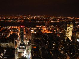 New York at night 4 by tink85
