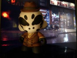 Rorshach Munny by KidNotorious
