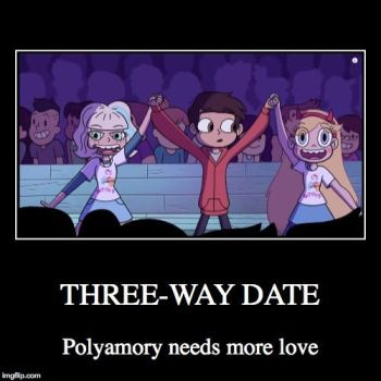 Star Motivational: Polyamory by Pixargirl