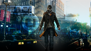 Watch_dogs - Uplay Deluxe Wallpaper by TigraPolosatiy