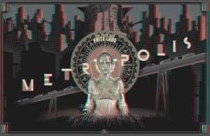 Metropolis poster 3-D conversion by MVRamsey