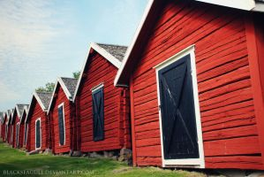 church stables by blackseagullPhoto