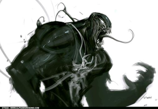 old work - Venom by dtran
