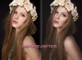 Scandinavian Beauty Retouch by Nutternewb