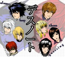 Death Note: Us and Them by moloko-plus