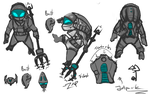Astronaut Fizz Concept [WIP] by Furious-Draco