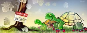 Turtles On Wheels by altergromit