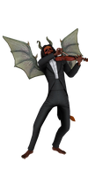 'Abyss Odyssey' Demon Violinist XPS ONLY!!! by lezisell