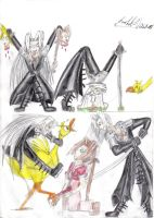 The Sephiroth YMCA by Mellifluous-whispers
