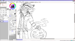 WIP 1 Tora halloween picture by xXDeathxPenaltyXx