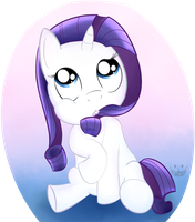 Rarity filly by Cheshiresdesires