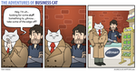 The Adventures of Business Cat - Dealings by tomfonder