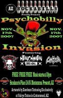 Psychobilly invasion. by Zombean1138