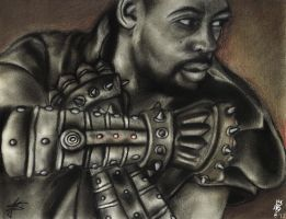The Man with the Iron Fists by julesantonio