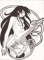 Marceline Lineart by sweetxdeidara