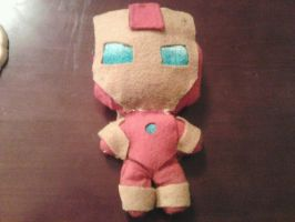 Iron Man Plushie by SoupInsanity