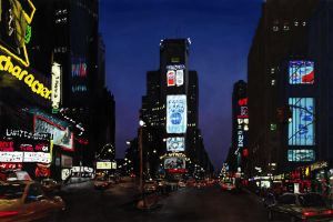 Times square painting by vegas9879