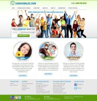 Website design for Dentists by artistsanju