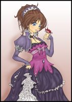 Fare Flower colored. by 13-KiTTy-BaD-LuCk