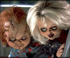 Chucky and Tiffany by Chuckyfan4lyf