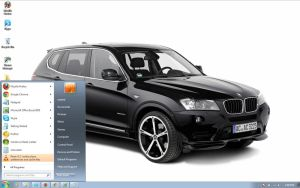 BMW-X3-F25-2011 windows 7 theme by windowsthemes