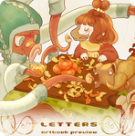 Letters Artbook Preview: Oh! by Aka-Shiro