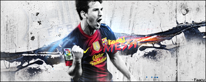 Lionel Messi - Barcelona - 2013 by faacu14