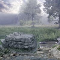 Premade Background Fairyland by MoraNox-Stock