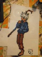 Jack Frost Trainer Perler Beads by Cimenord