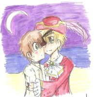 APH: A pirate's night... by freaky-anime-doodler