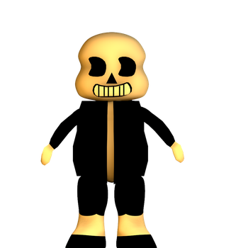 |C4D|Sans Ink| by TheFoxGamerOfficial2