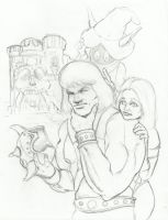 Happy 30th Anniversary, Masters Of The Universe! by ayelid