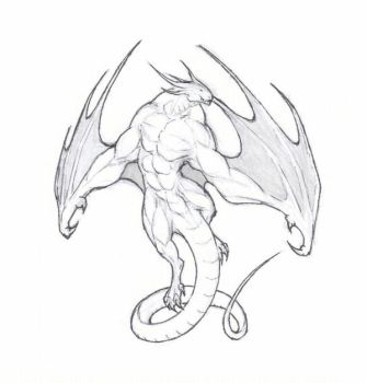 Demon creature by krigg