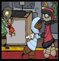 fourth day of Christmas by herio