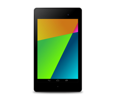 Google Nexus 7 Vector by Dario1crisafulli